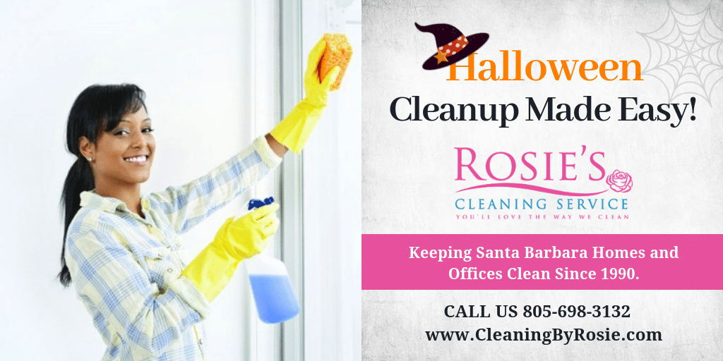 Halloween Cleaning Special
